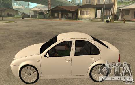 Volkswagen Bora PepeUz Edition для GTA San Andreas вид слева
