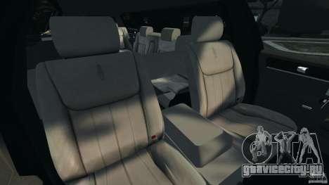Lincoln Town Car Limousine 2006 для GTA 4 вид сзади