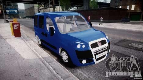 Fiat Doblo 1.9 2009 для GTA 4 вид справа