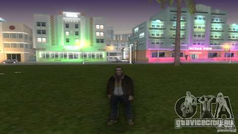 Niko Bellic для GTA Vice City