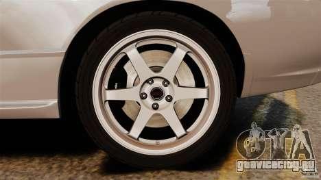 Nissan Skyline GT-R (BNR32) для GTA 4 вид сверху