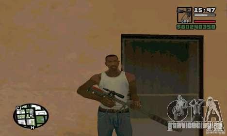 КСВК (СВН-98) для GTA San Andreas второй скриншот