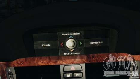 BMW 330i E92 для GTA 4 вид снизу