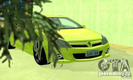 Opel Astra GTS для GTA San Andreas вид справа