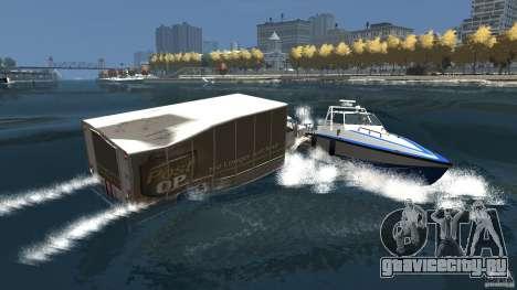 Benson boat для GTA 4 вид сверху
