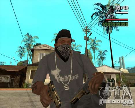Millenias Weapon Pack для GTA San Andreas второй скриншот