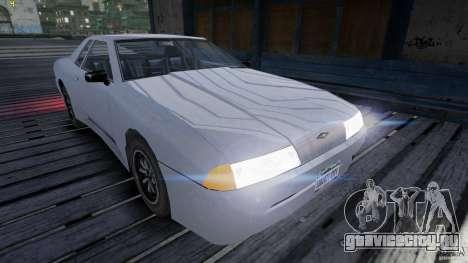 Elegy для GTA 4 вид сзади