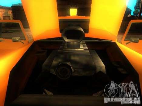 Crazy CABBIE для GTA San Andreas вид сзади
