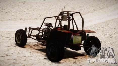 Half Life 2 buggy для GTA 4 вид изнутри