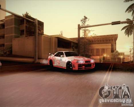 Nissan Skyline Z-Tune v2.0 для GTA San Andreas салон