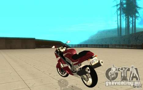 GTAIV TLAD Hakuchou Stock Version для GTA San Andreas вид сзади слева