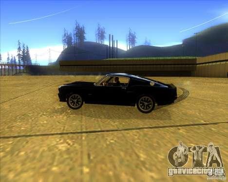 Shelby GT500 Eleanora clone для GTA San Andreas вид слева