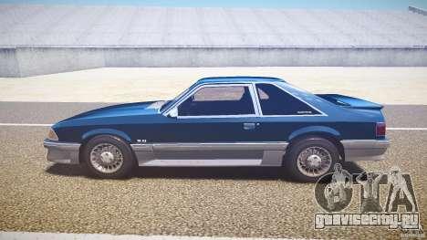 Ford Mustang GT 1993 Rims 1 для GTA 4 вид слева