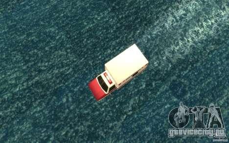 Ambulan boat для GTA San Andreas вид справа
