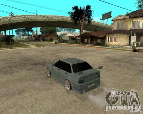 ВАЗ 2115 TTC Tuning для GTA San Andreas вид слева