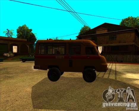 УАЗ 3962 Медицинский для GTA San Andreas вид слева