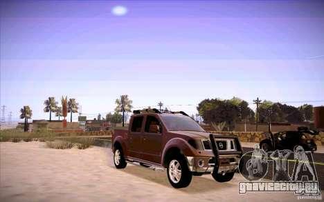 Nissan Fronter для GTA San Andreas вид слева