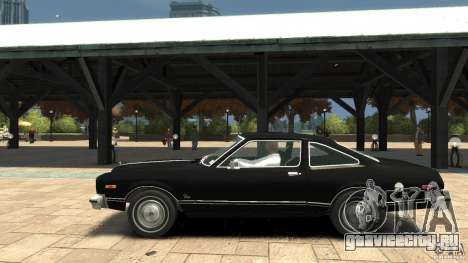 Plymouth Volare Coupe 1977 для GTA 4 вид слева