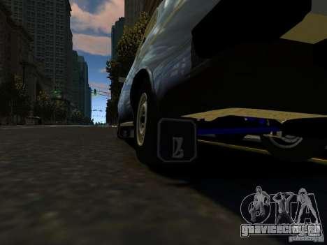 ВАЗ 2106 для GTA 4 вид изнутри