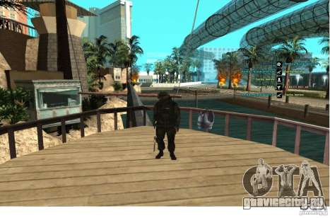 Спецназ Беркрут для GTA San Andreas третий скриншот