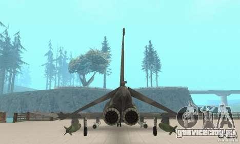 F-4E Phantom II для GTA San Andreas