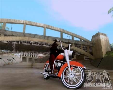 Harley-Davidson FL Duo Glide 1961 (Lowrider) для GTA San Andreas