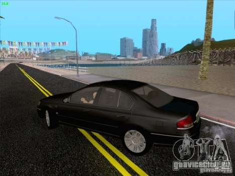 Ford Falcon Fairmont Ghia для GTA San Andreas вид сбоку