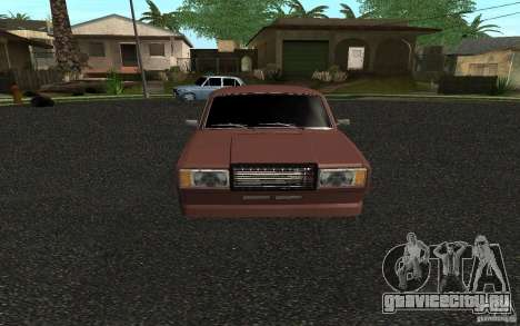 ВАЗ 2107 Tuning для GTA San Andreas вид слева
