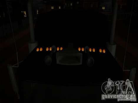 Linerunner из GTA 3 для GTA San Andreas вид изнутри