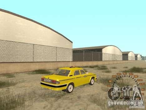ГАЗ-31105 такси для GTA San Andreas вид слева