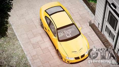 Pontiac GTO 2004 для GTA 4 вид сбоку