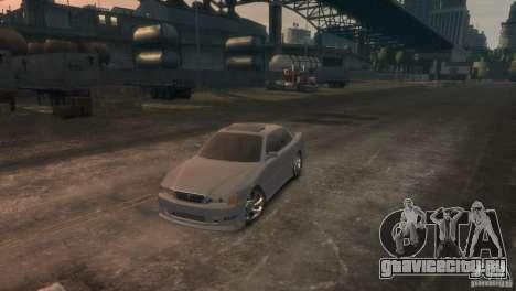 Toyota Chaser 2.5 Tourer V для GTA 4