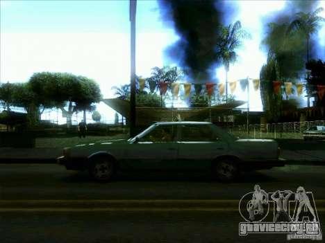 Такси из dri3r для GTA San Andreas вид слева