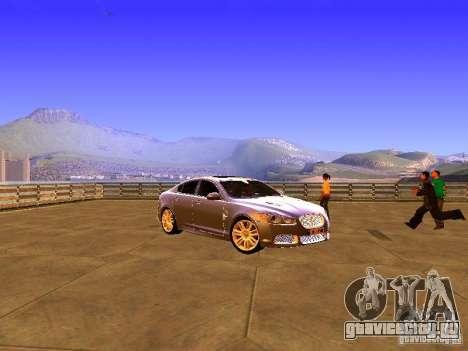 Jaguar XFR 2011 для GTA San Andreas вид слева