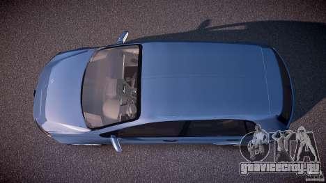 Volkswagen Polo 2011 для GTA 4 вид справа