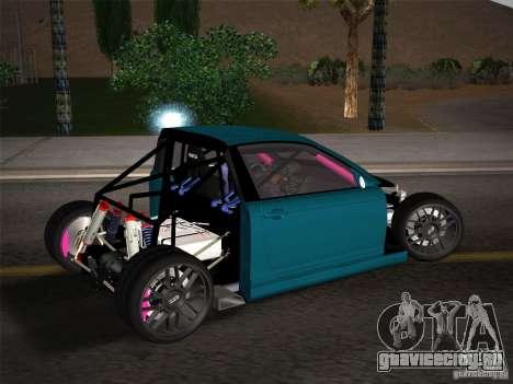 BMW E46 Drift II для GTA San Andreas салон