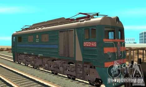 Локомотив VL23-419 для GTA San Andreas