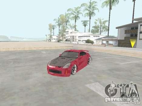 Nissan 350Z v2 для GTA San Andreas