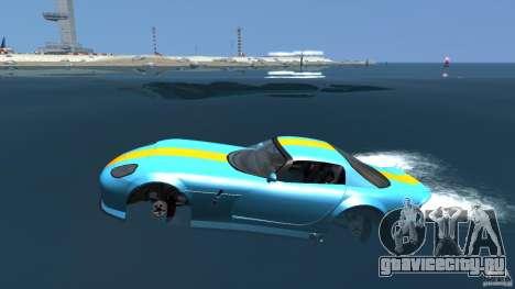 Banshee Boat для GTA 4 вид слева