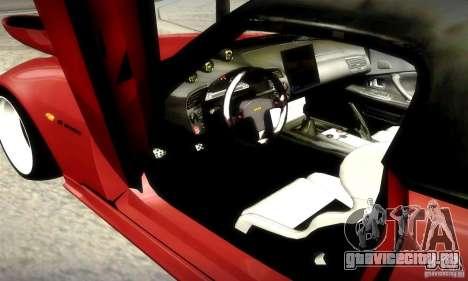 Honda S2000 JDM Tuning для GTA San Andreas вид снизу