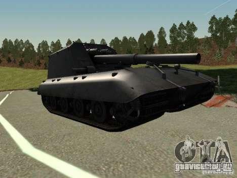 GW Typ E для GTA San Andreas вид слева