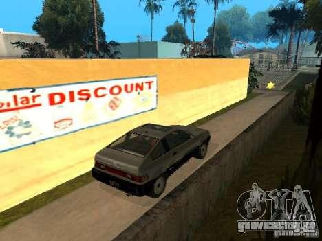 Blista From GTA IV для GTA San Andreas вид сзади слева