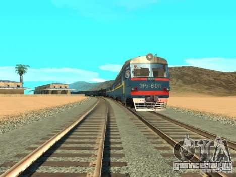 ЭР2 8011 для GTA San Andreas вид сзади