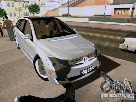 Mercedes Benz R300 для GTA San Andreas вид сзади слева