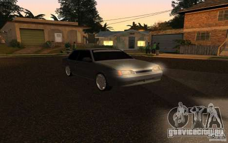 ВАЗ 2115 купе для GTA San Andreas вид слева