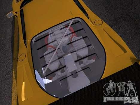 Ferrari F40 GTE LM для GTA San Andreas вид сзади слева