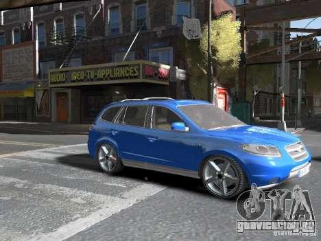 Hyundai Santa Fe для GTA 4 вид справа