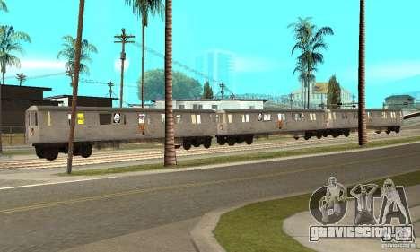 Liberty City Train GTA3 для GTA San Andreas вид слева