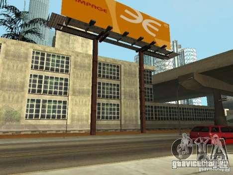The Los Angeles Police Department для GTA San Andreas второй скриншот