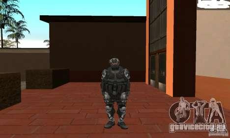 Crysis NanoSuit 2 для GTA San Andreas второй скриншот